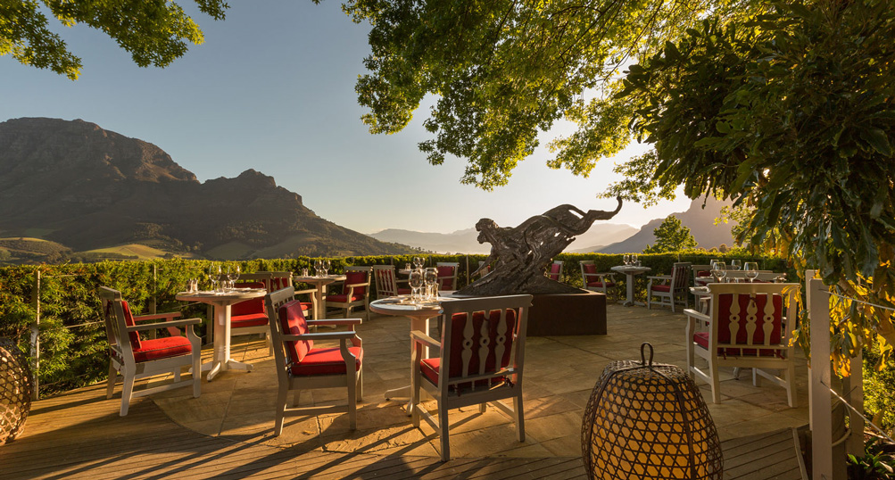 Cape Town / Delaire Graff Estate and Lodges
