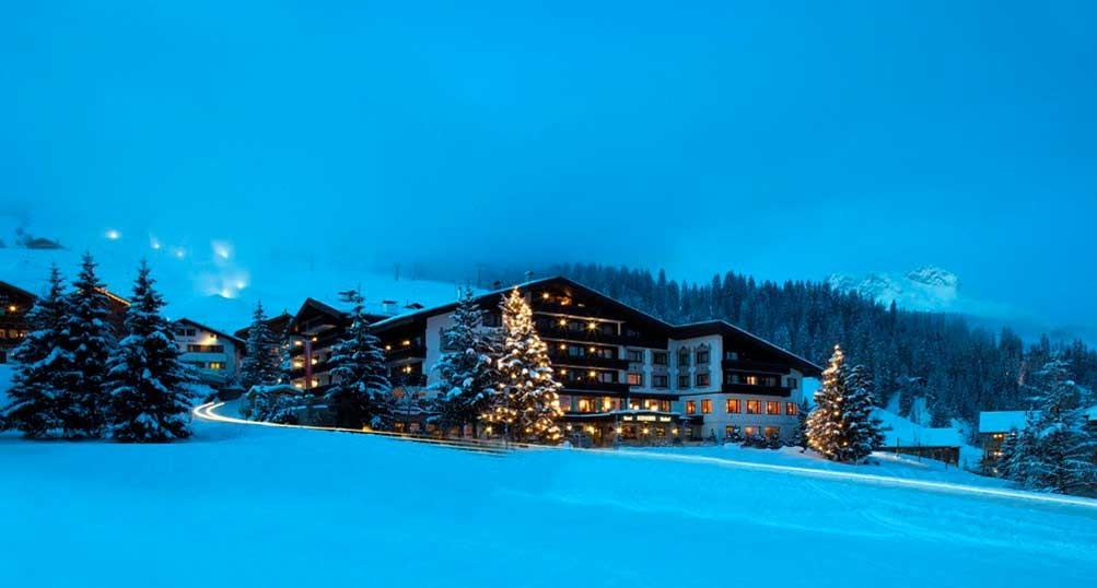 Lech am Arlberg / Hotel Almhof Schneider