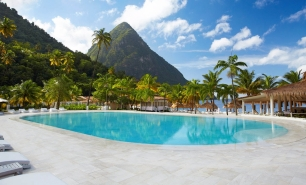 St Lucia / Sugar Beach Viceroy Resort