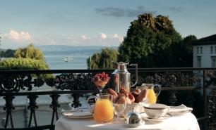 Zurich / Hotel Baur au Lac