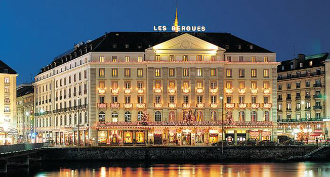 Four seasons hotel des bergues geneva hotels style for Hotels geneve